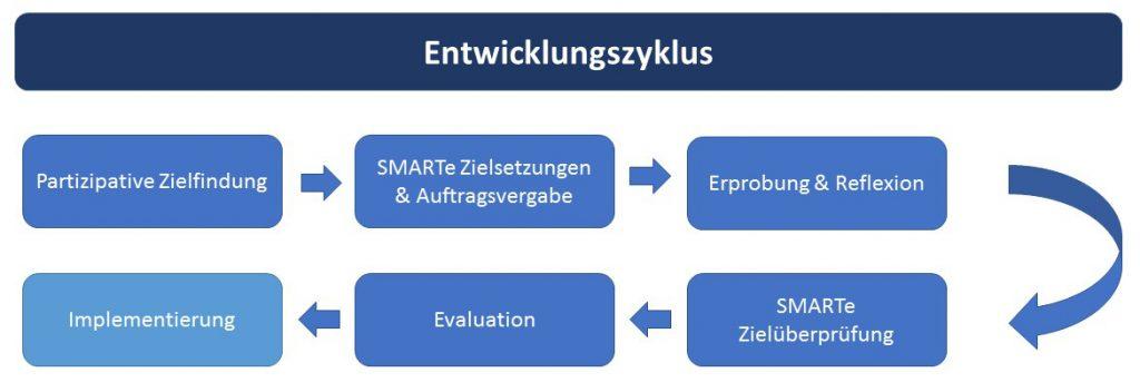Entwicklungszyklus Schulentwicklungsvorhaben